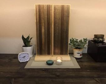 MIKI (TREE) - Small mini sgi butsudan altar fully handmade ( NEW) - Modern Japan Minimalist
