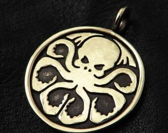 Bronze Cthulhu pendant