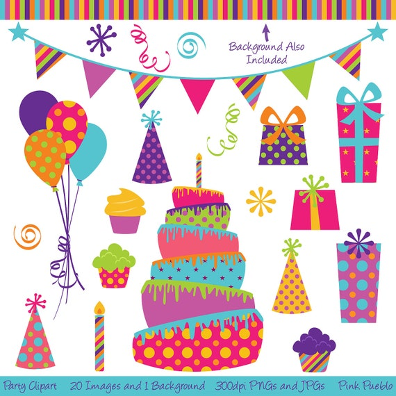 Party Clipart Clip Art Birthday Cake Clipart Clip Art