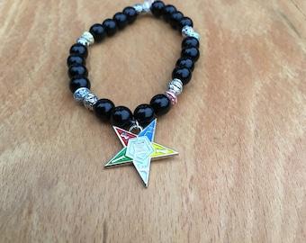 Order of the Eastern Star Sorority Bracelet