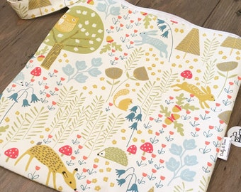 Dolly & Dave Colourful Woodland Baby Change Bag