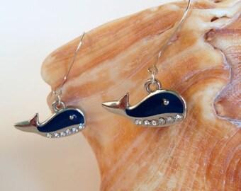 A Whale of a Tale Earrings