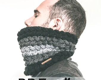 Crochet Cowl Pattern Greystoke Cowl PDF + Video Tutorial // Snood // Crochet Tutorial // Cowl Pattern // Haakpatroon // Häkelanleitung