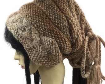 Dreadlock Hat, slouchy beanie Dreads Hat Tube Dreads Beanie Slouch Beanie Tube Beanie Rasta Beanie cap Slouchy Tam Mens hat