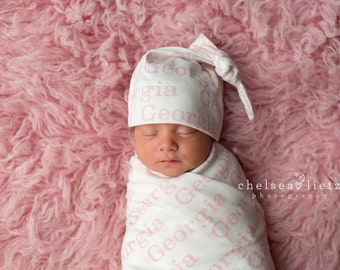 Personalized Baby Blanket Organic Swaddle Blanket Swaddle Going Home Baby Monogrammed  Blanket Photo Prop Baby Shower