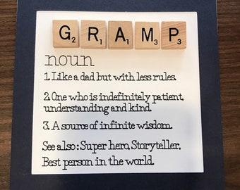 Gramp definition card