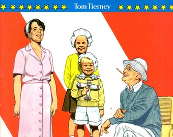 Franklin D. Roosevelt and His Family Paper Dolls in Full Color Eleanor Children Grandchildren Fala Book by Tom Tierney