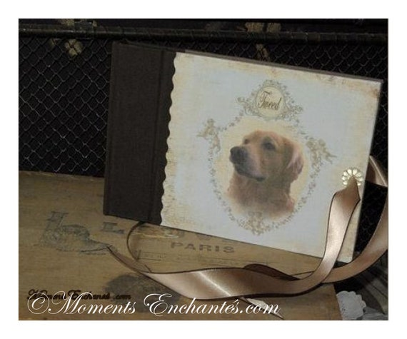 Book of training for dog,  book of life for dog mothers' Day custom