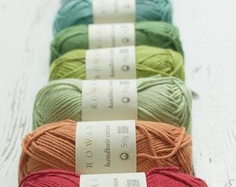 Rowan Handknit Cotton Worsted/Aran Weight Yarn