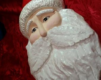Twinkling Santa Head