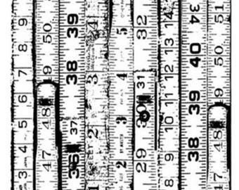 "Lost Coast Designs ""Rulers Background """
