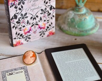25% DISCOUNT Kindle Case Pride and Prejudice Book Cover Design