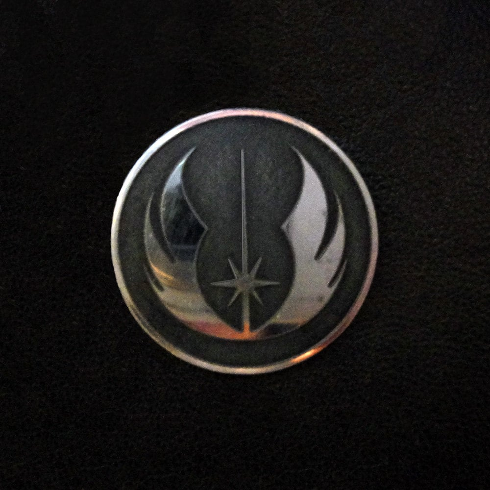 Jedi symbol pin badge request a custom order and have something made just for you biocorpaavc