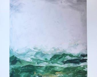 "The Mountains Call Art Print (16""x20"")"