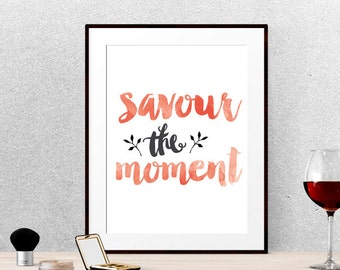 Gifts for foodies, Kitchen poster,Kitchen art, Food quotes, Printable wall art, Dining room decor, Dining room art