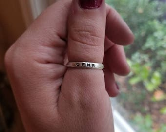 OFNR ring with stacking rings option