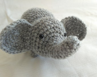 Handmade Elephant Amigurumi - Cute Crochet Plush