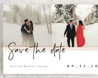 Custom Wedding Save the Date Cards,Digital printing,graphic design,invitation card,