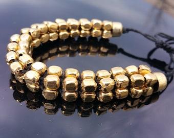 Beaded Bracelet Beaded Anklet Gold Plated