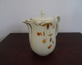 Autumn Leaf China 8 Cup Rayed Coffee Pot with Lid