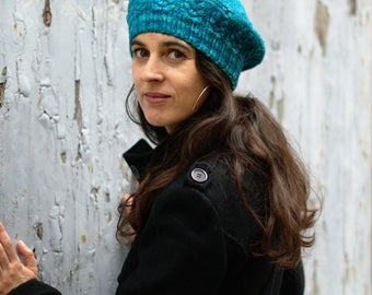 Armley Beret PDF knitting pattern (instructions)