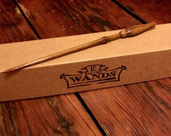Luna Lovegood's Wand (Second) Hand Sculpted Magic Wizard / Witch