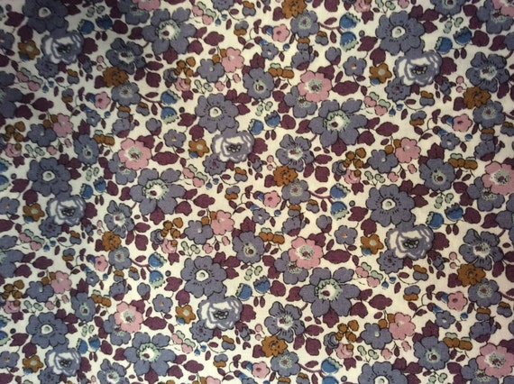 Tana lawn fabric from Liberty of London, Besty Ann