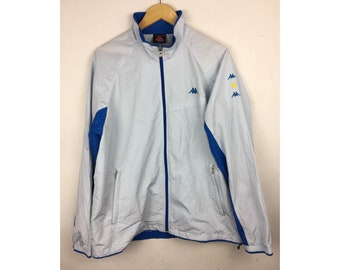 KAPPA Windbreakers Extra Large Size With Small Embroiled Logo Fully Zipper