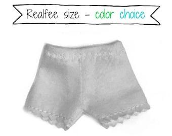 REALFEE undershorts:  Choice of 24 solid colors fitting Fairyland Realfee
