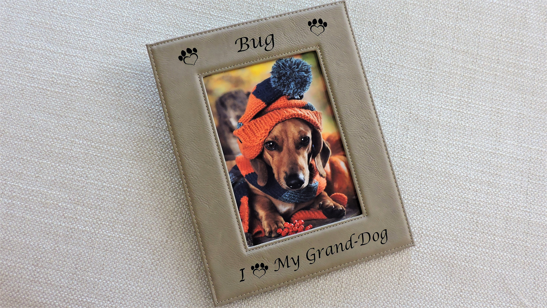 Grand dog photo frame grandpuppy granddog grandpup custom 2499 jeuxipadfo Image collections