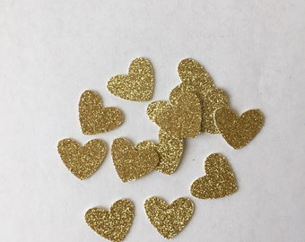 Glitter Heart Confetti - Shower - Birthday - Engagement - Wedding - Party