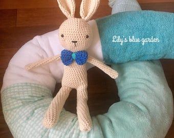 Mr. Bunny crochet plush