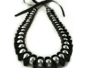 Beads and ribbons, Pearl Beads, Elegant Beads