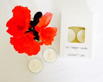 6 pkt Soy Tealight Candles