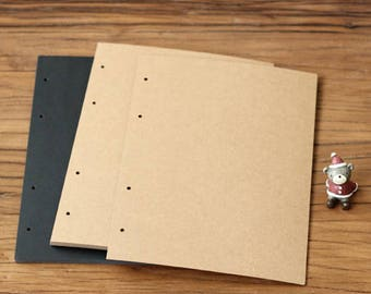 A4 Extra Cardboard Rounded Corner 400gsm Paper for Photo Frame Album
