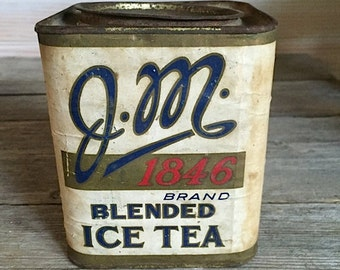 J.M. 1846 Ice Tea Tin