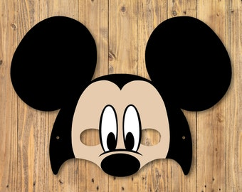 Mickey Mouse Mask - Digital File
