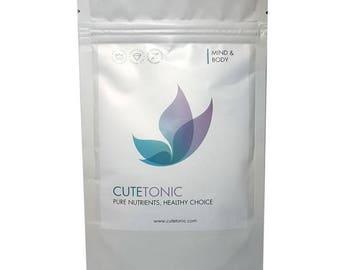 Cutetonic® Pea Protein 100% Pure Powder Organically-sourced