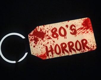 Plague City - 80's Horror keychain