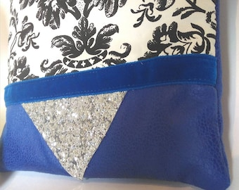 Clutch - pouch fabric-wedding clutch - fleece - gifts