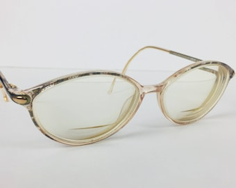Vintage 1990's Silhouette Eyeglasses RX Prescription SPX M 1919 /20 6053 Stamp Size 54-14 Frame Made In Austria