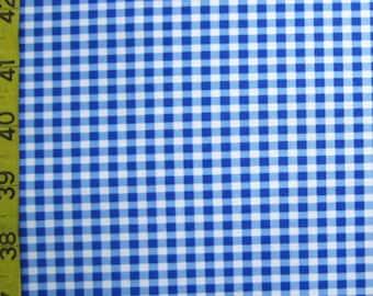 Gingham - Blue  (Order by Print)