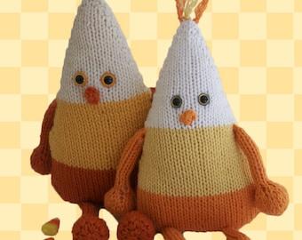 Candy Corn Dude PDF Knitting Pattern