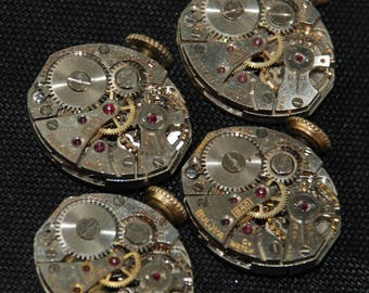 Vintage Antique small Watch Movements Steampunk RT 33