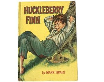 Huckleberry Finn By Mark Twain Illustrated Hardcover Book