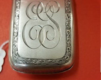 Sterling silver match safe (VESTA CASE)