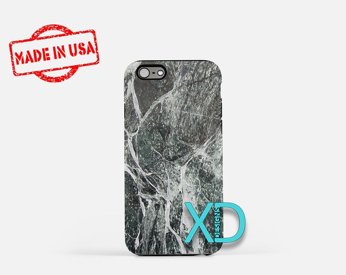 Marble Phone Case, Gray Marble Phone Case, Black Marble Phone Case, Stone iPhone Case, Marble Design, Marble Pattern, Black & White, Marble