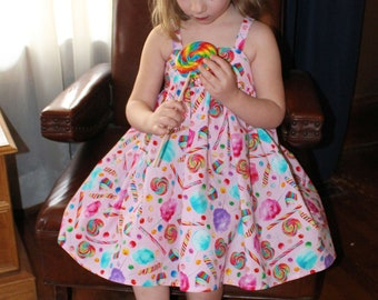 The Sweest of them all dress  (12-18 months, 2T, 3T, 4T, 5, 6,7, 8)