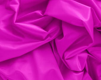 1/2 YD Fuchsia Duoplex Perfect for Bra-Making Underwire Bras