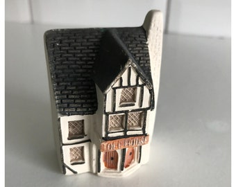 Vintage Philip Laureston House Miniature No. UK 714, Toll House.  Made in England